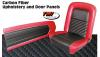 65-68 Mustang Carbon Fiber Look Standard Upholstery