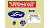 65-73 Mustang Miscellaneous Decals