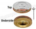 1964-65 Mustang Air Cleaner Assembly - Gold Pan 289 HiPo