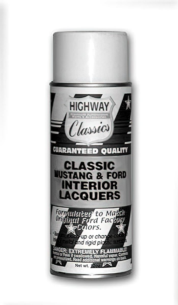 65 73 Mustang Interior Paint Vinyl Dyes