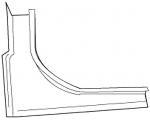 1965-66 Rear Trunk Corner