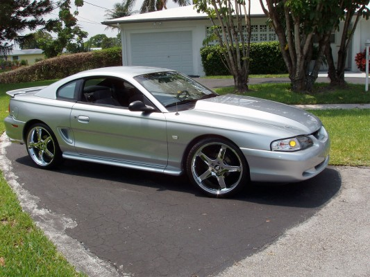 A 1994 Ford Mustang