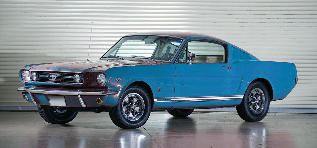 K-Code Mustang.